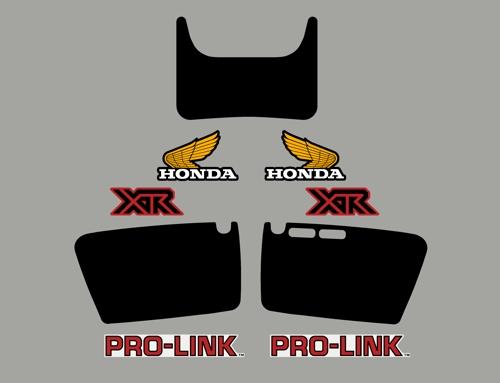 Xr R Fullkitlayout W on 1983 Honda Xr200r