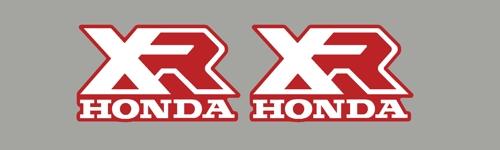 Xr R Tank Logos W on 1983 Honda Xr200r